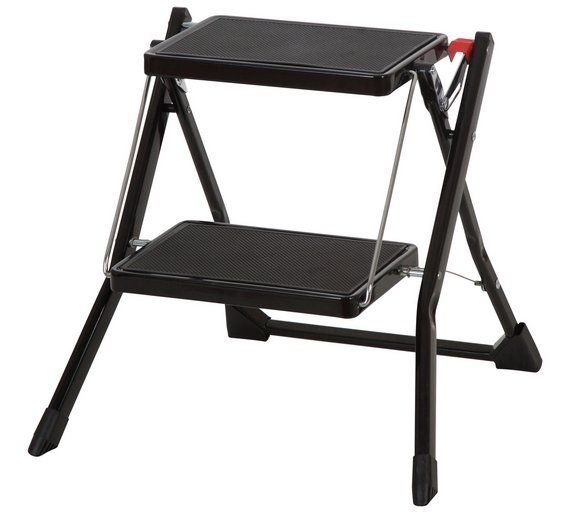 Enjoyable Buy Abru 2 Step Compact Step Stool 2 20M Reach Height At Caraccident5 Cool Chair Designs And Ideas Caraccident5Info