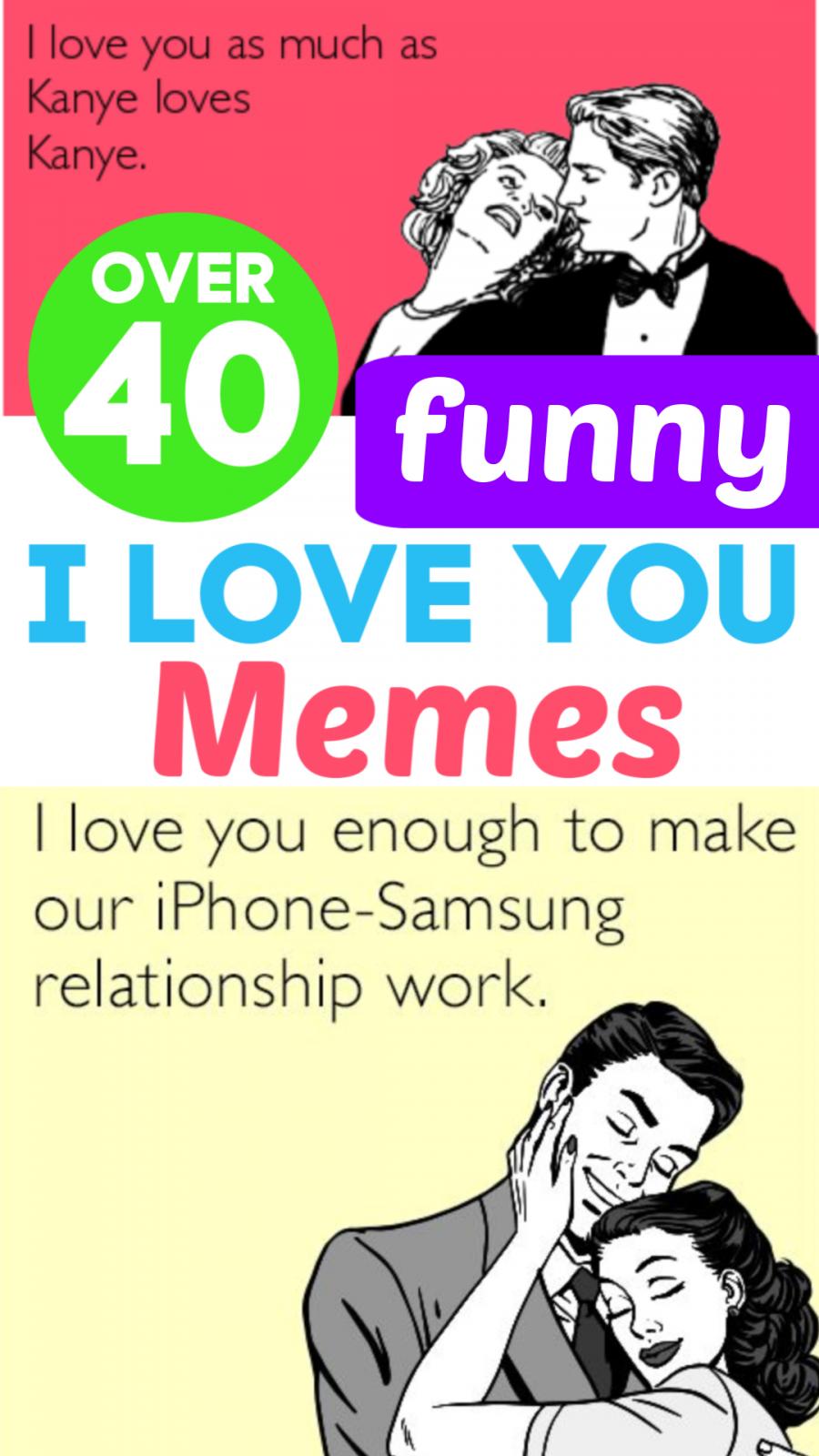 Over 40 Funny I Love You Memes Love You Meme Flirty Good Morning Quotes Flirty Memes