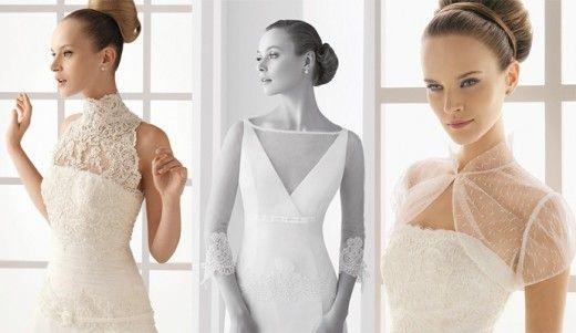 Flattering Wedding Dresses for Skinny Brides | Cape & Boleros ...