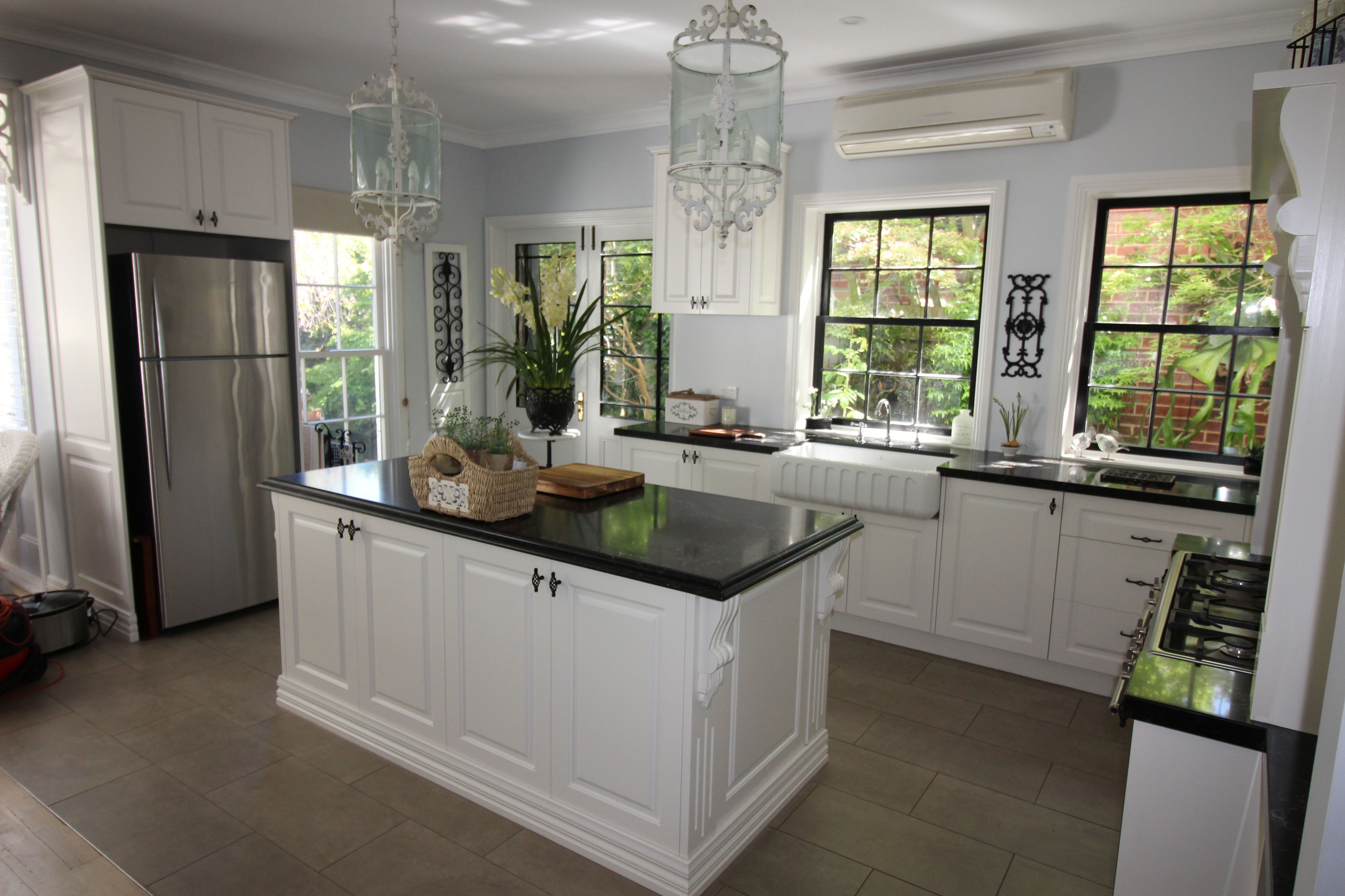 Classic French Provincial Style Kitchen From Kds Kitchens