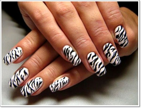 unique zebra nail art designs 2016 - Unique Zebra Nail Art Designs 2016 Snake Nail Art Tutorial & Video