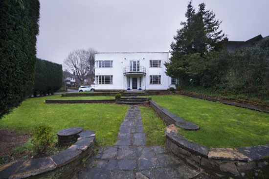 on the market four bedroom 1930s art deco property in sutton