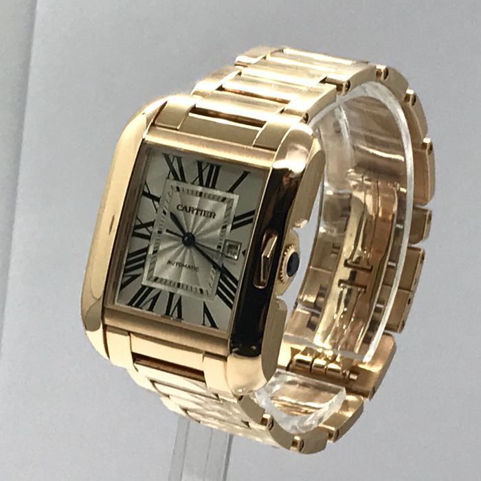 88bb44334c65d6 Catawiki online auction house  Cartier - Tank Anglaise 18K pink gold Large  Model - W5310003 - Unisex - 2011-present