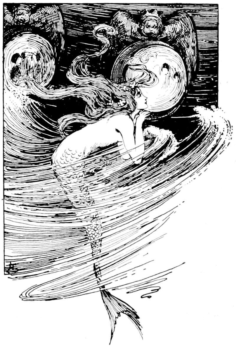 Helen Stratton Public Domain Mermaid Illustration Mermaid Art Art