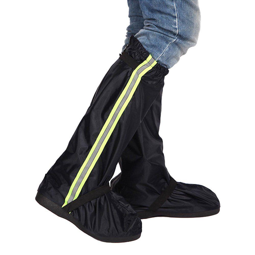 Maiyi Unisex Oxford Waterproof Overshoes Outdoor Rain Shoe Covers