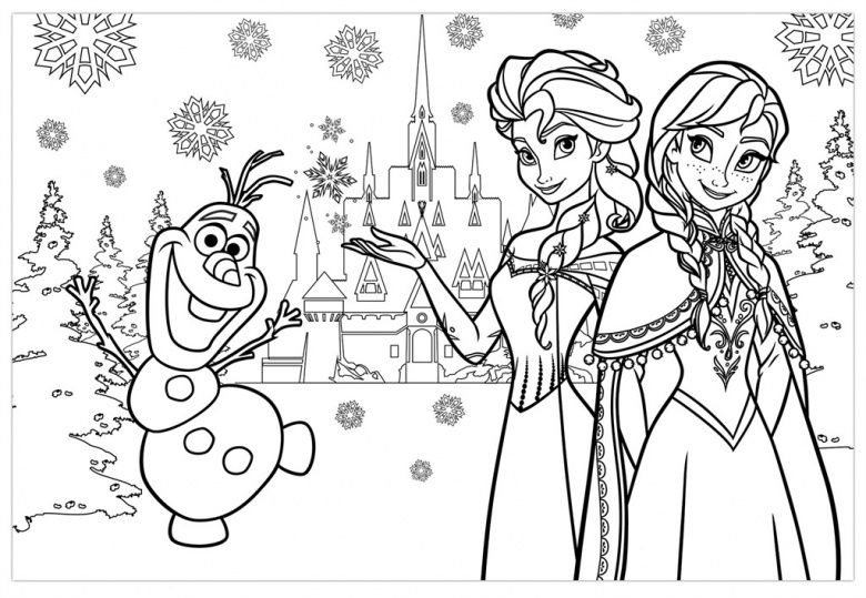 - 50 Printable Frozen Coloring Pages Ideas For Kids Activities In 2020 Frozen  Coloring, Frozen Coloring Pages, Elsa Coloring Pages