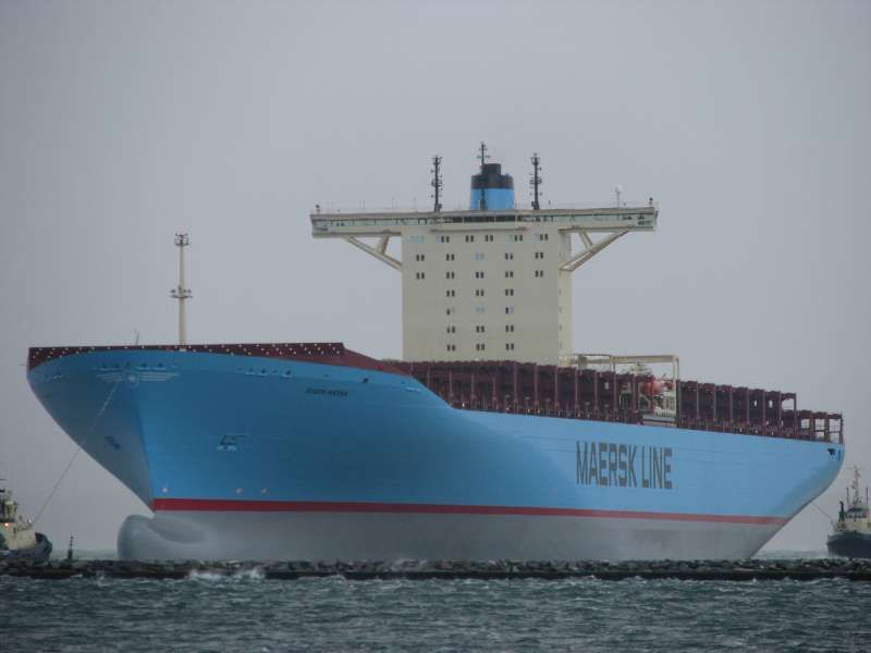the maersk shipping conglomerate has recently launched the triple e
