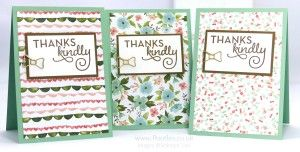 Stampin' Up! Demonstrator Pootles - February Thank You Cards with Birthday Bouquet 7