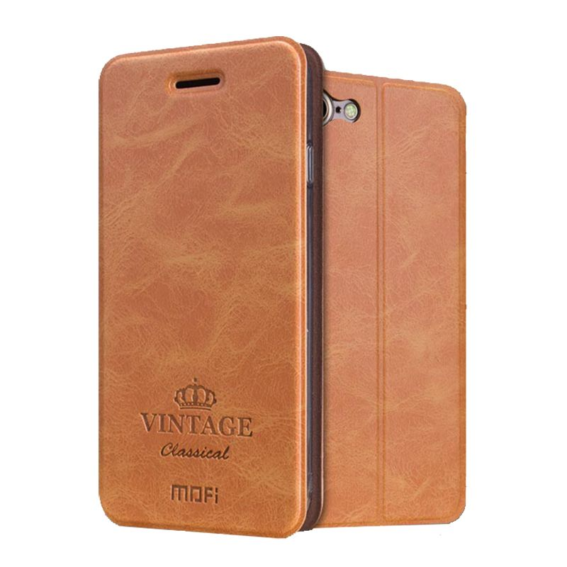 New Arrival For iphone 7 Case Mofi Hight Quality Flip Leather Stand Case For Apple iphone 7 4.7'' Wallet Style Cover