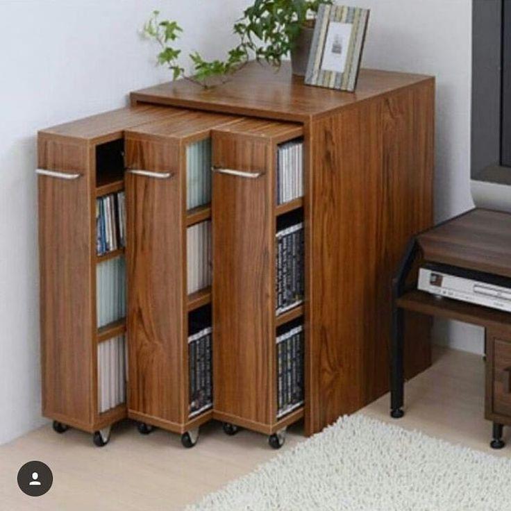 Ein Großartiger Pinfikir Wenn Sie Viele Bücher Haben Today Pin Home Decor Home Decor Furniture Space Saving Furniture