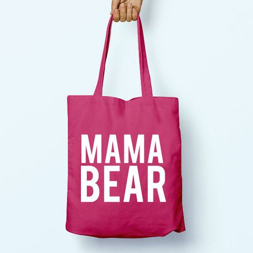 Pink cotton mama's bag 0jC38k