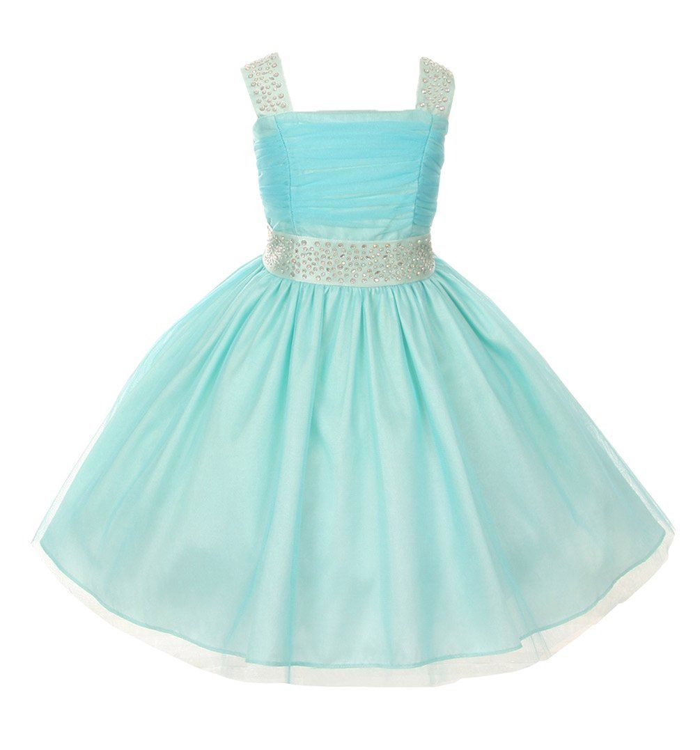 Fabulous speciall occasion tulle dress with sparkling