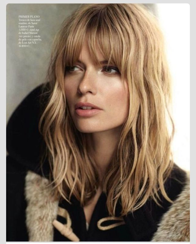 15 Awesome Ways To Style Bangs Hair Styles Long Hair Styles Hairstyle
