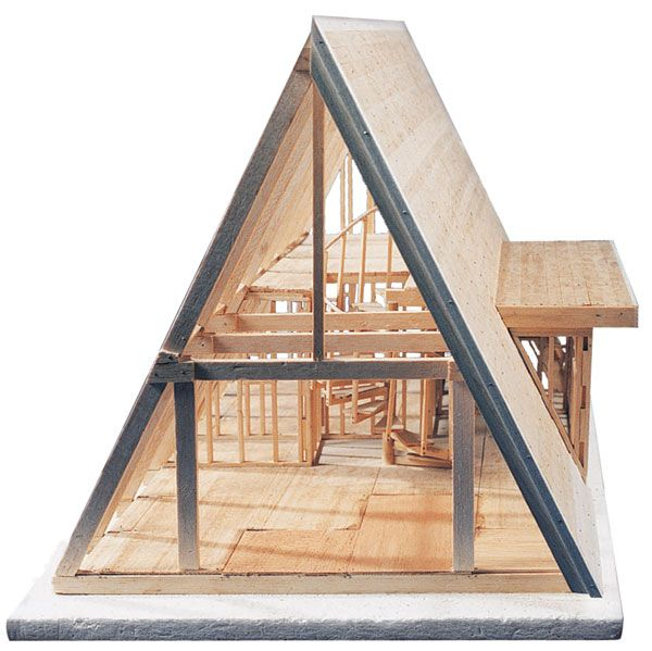 Midwest Products Aframe Cabin Kit A Frame Cabin A Frame House
