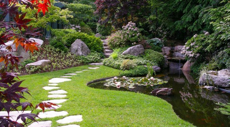 Zen Outdoor Gärten   10 Prinzipien Und Eigenschaften Des Japanischen  Gartens ✿ #eigenschaften