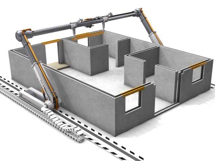 Contour crafting où comment imprimer sa maison en 3D House
