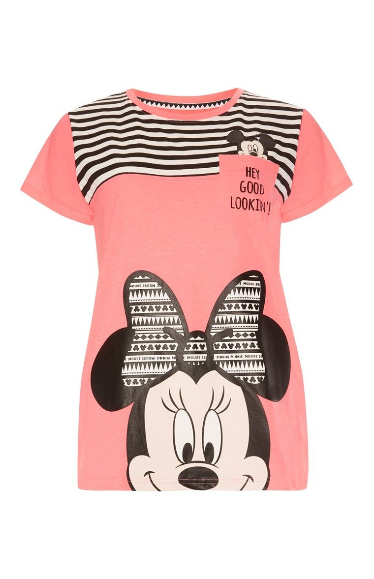 7c2e6055fdfb Primark - Pink Minnie Mouse T-Shirt | DISNEY GIRLS in 2019 | Shirts ...