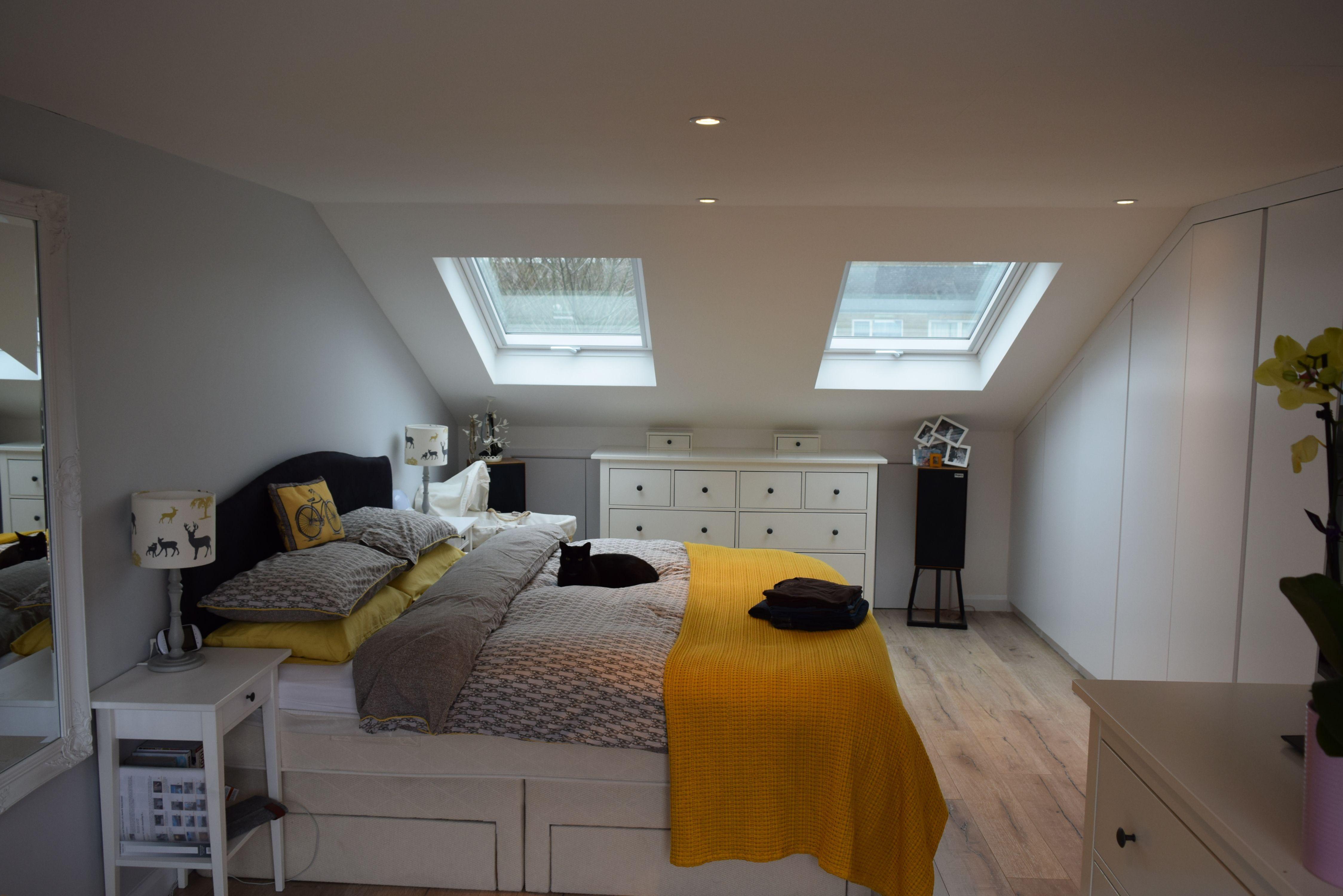 A Single Full Width Rear Dormer Conversion Into One Bedroom And One Bathroom Ash Island Lofts Bed Small Loft Bedroom Small Loft Spaces Attic Bedroom Designs
