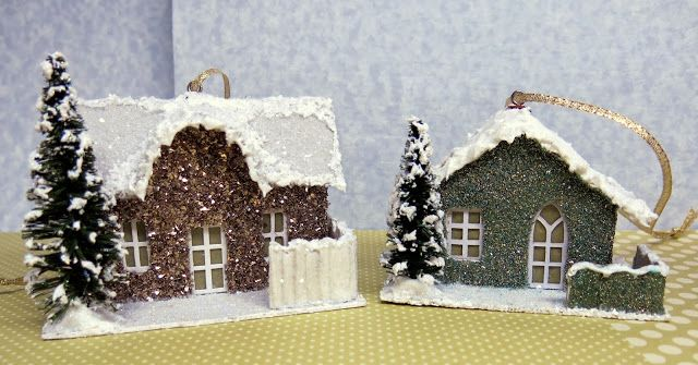 Kathryn's Cards: Glitter Houses PTI Blog Hop November