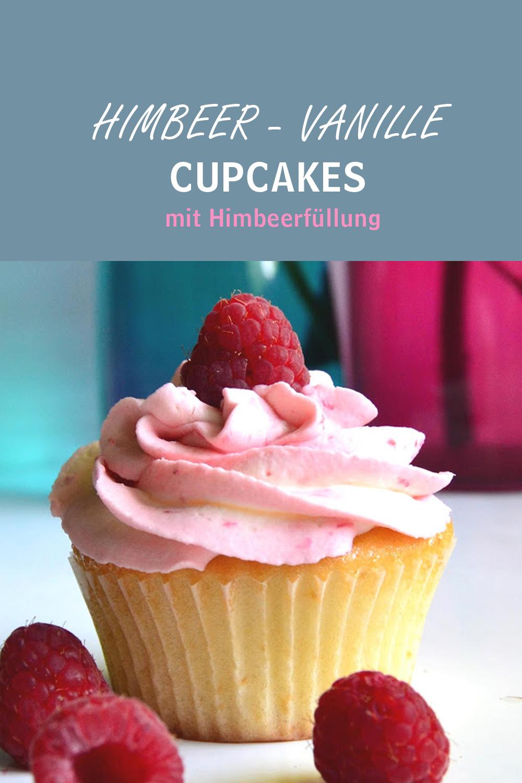 Himbeer Vanille Cupcake - mein bester Vanilleteig