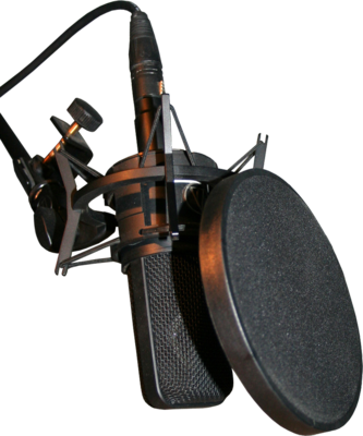 Download Premium Image Of Professional Condenser Microphone With A Pop Recording Studio Setup Home Recording Studio Setup Microphone