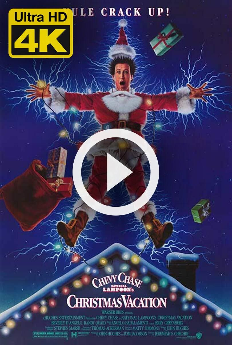 4K Ultra HD National Lampoon's Christmas Vacation (1989
