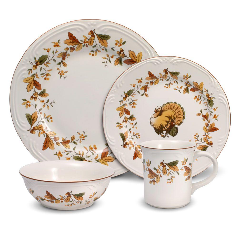 Pfaltzgraff | Filigree Autumn Berry 16 Piece Dinnerware Set  sc 1 st  Pinterest & Pfaltzgraff | Filigree Autumn Berry 16 Piece Dinnerware Set ...