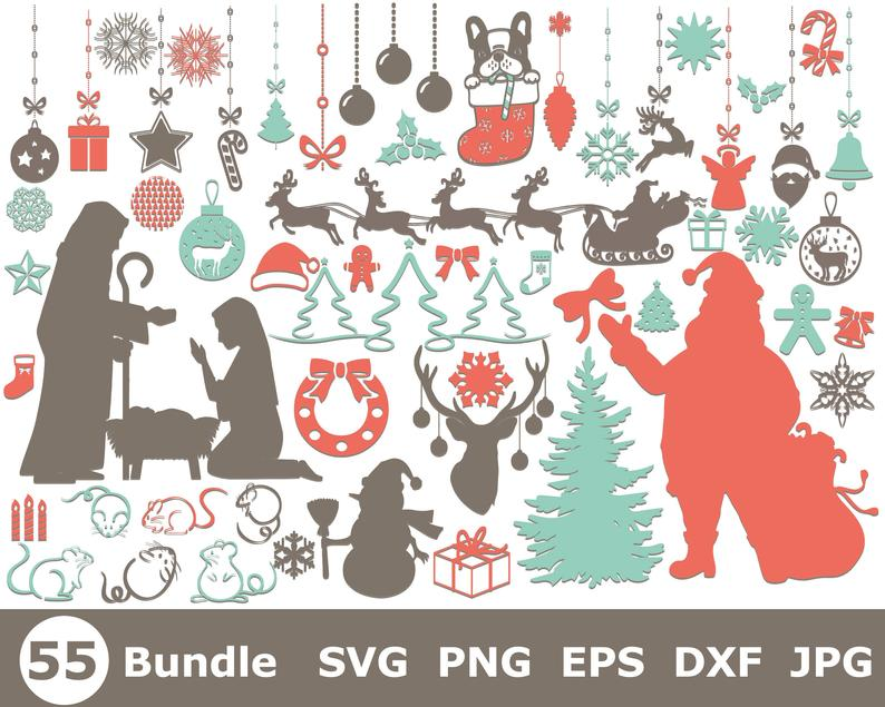21+ Nativity Svg Christmas Bundle In Svg, Dxf, Png, Eps, Jpeg Crafter Files