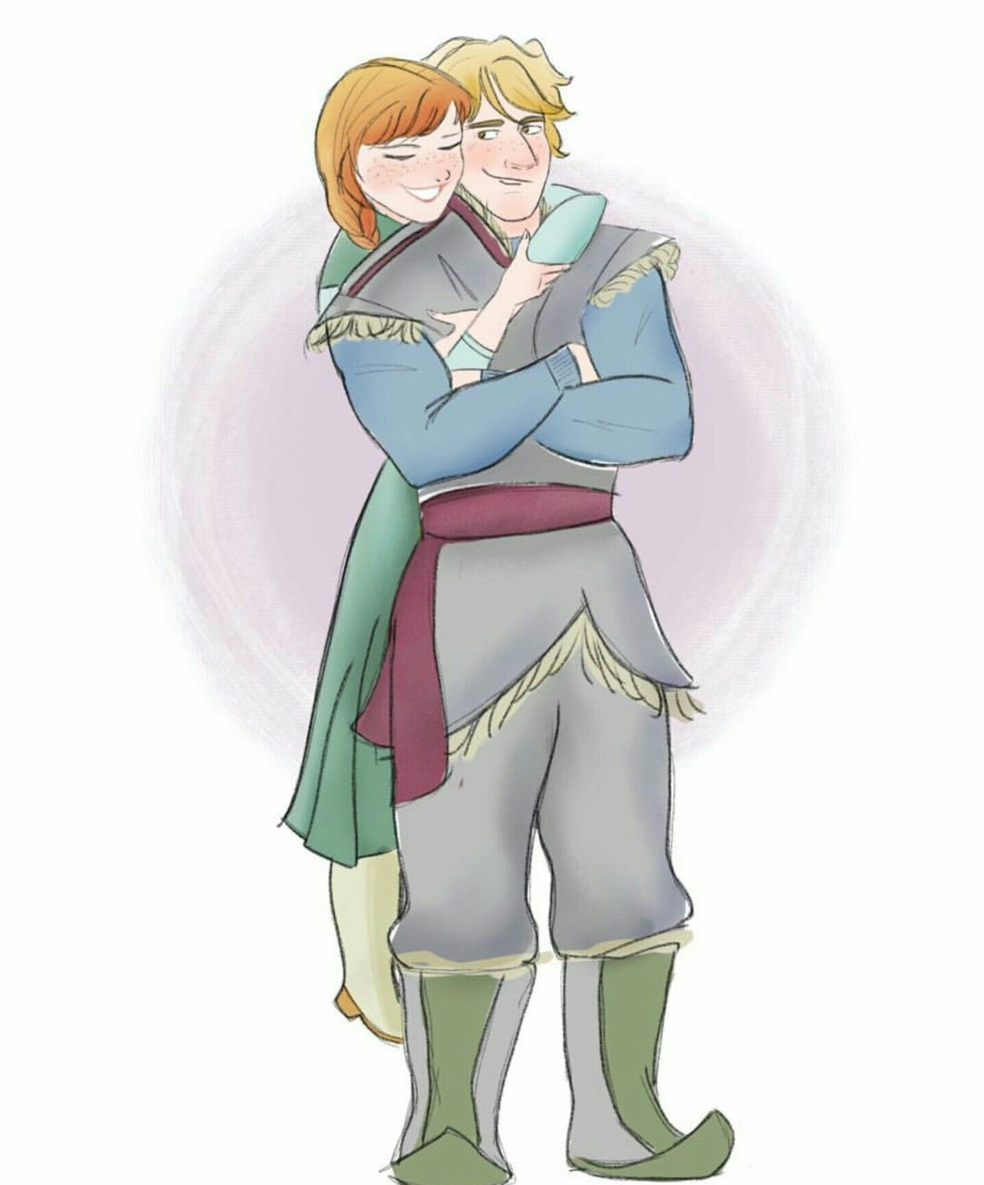 Kristoff and anna disney fanart pinterest anna