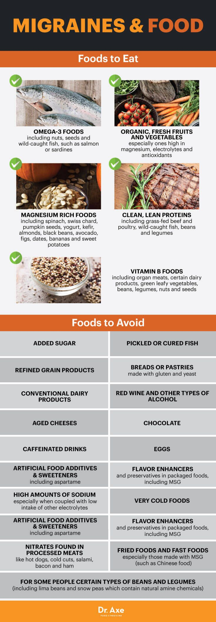 Food To Eat To Get Rid Of Headaches