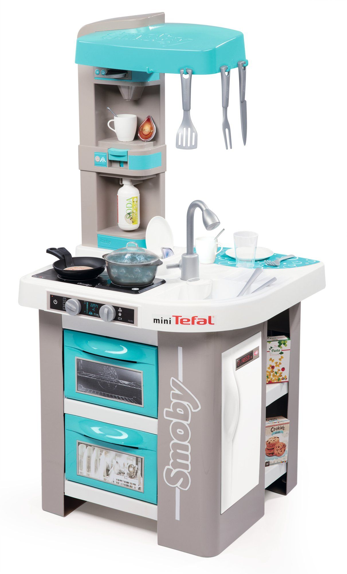 Smoby Tefal French Touch Bubble Küche Mit Wasserfunktion Smoby 311023 Tefal Studio Bubble | Studio Kitchen, Locker Storage, Tefal