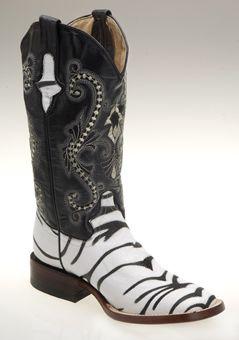 c42a83863fd Ferrini® Ladies Print Stingray Tiger Western Boots - White | Western ...