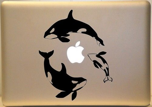 Computer Decals PC Or MAC MakeItMineDesigns ArtFire Shop - Vinyl stickers for laptops