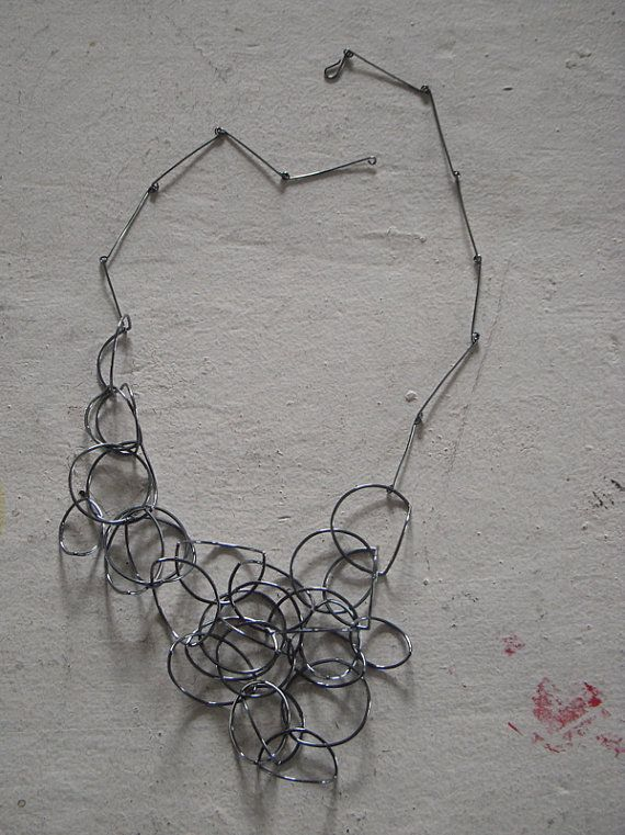 Line Art Earrings : Line drawing necklace no by amytavernjewelry on etsy