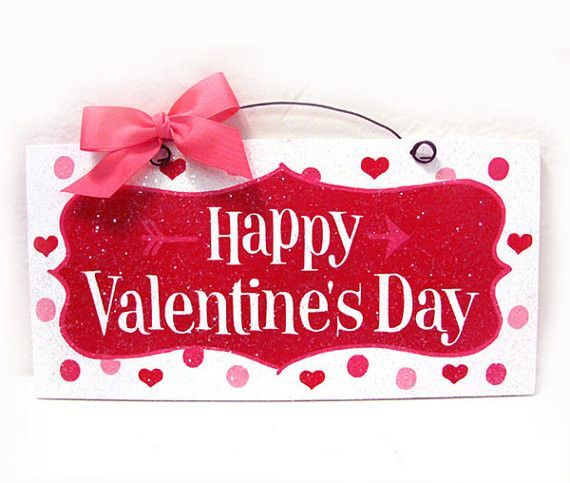 Happy Valentineu0027s Day Wreath And Sign | Cupid, Wreaths And Valentine Crafts