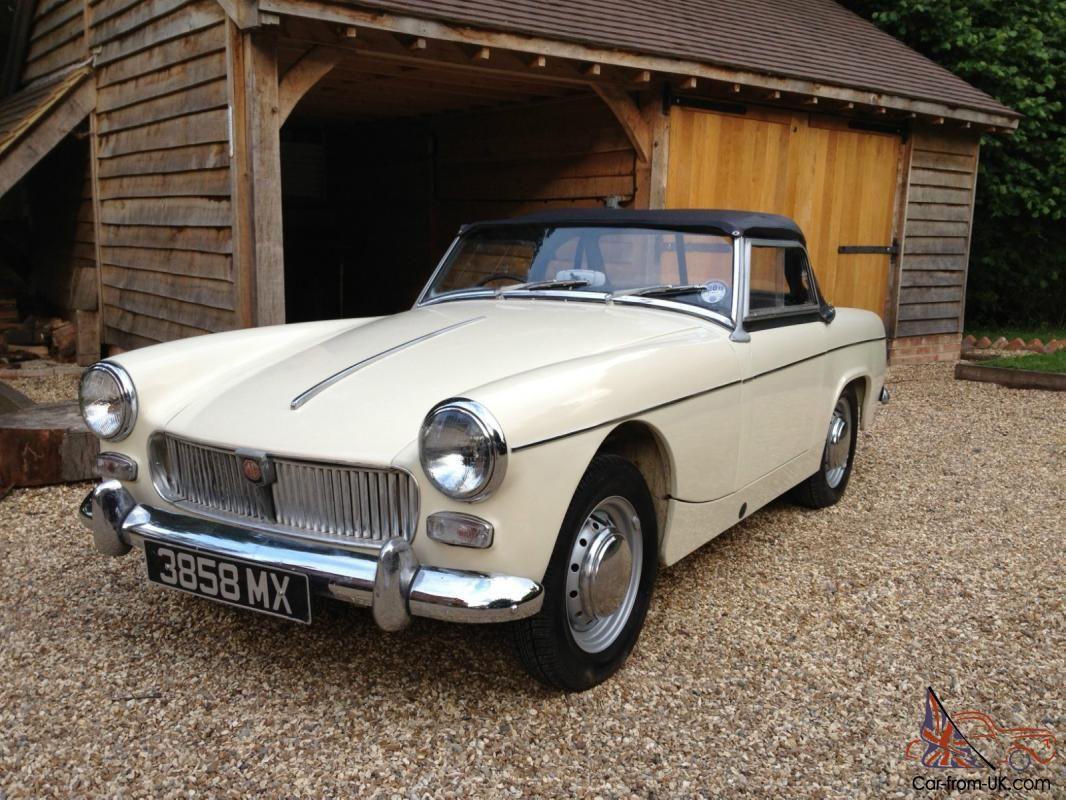 mg midget 1962 old english white - Google Search | Doris ...