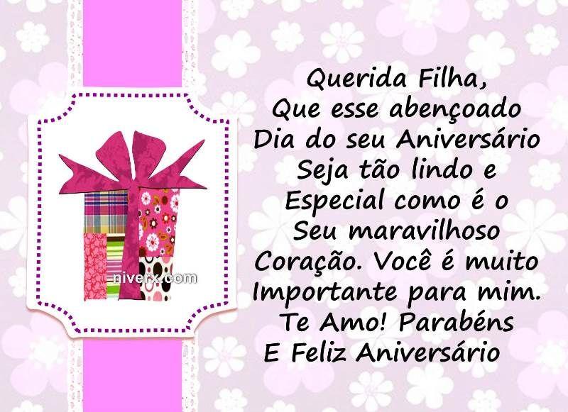 Frases Para Aniversário De Filha Celular Whatsapp Facebook C40 3 Amor