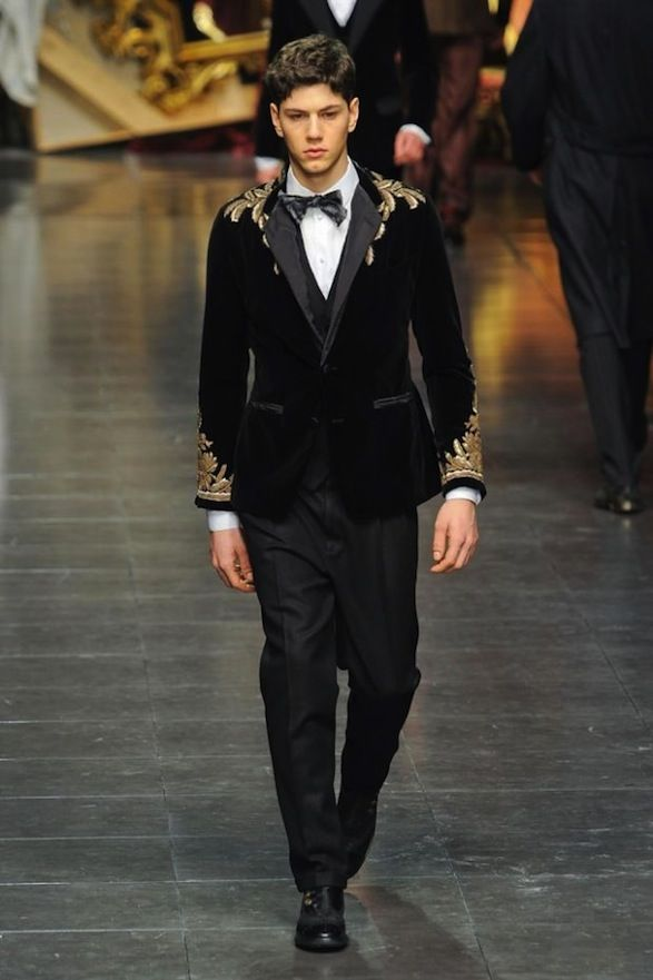 D G Men S Fashion Tailoring Embroidery Dolce And Gabbana Man Mens Fashion Edgy Mens Fashion Smart