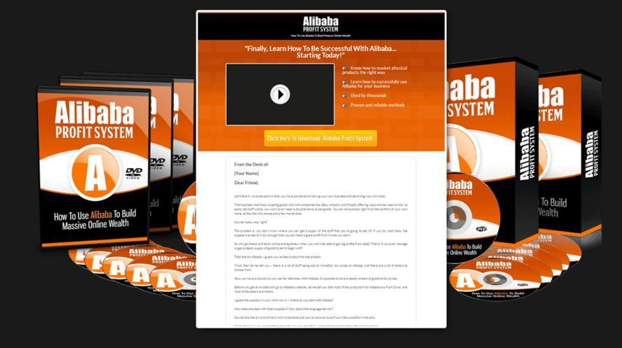 Alibaba Profit System PLR Package by Jonathan Teng Review u2013 Top - best of blueprint design maker