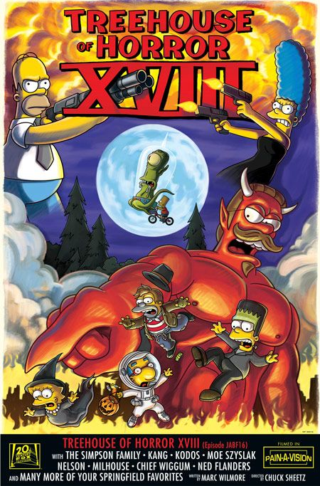 The Simpsons Treehouse Of Horror The Simpsons Simpsons Treehouse Of Horror The Simpsons Tv Show