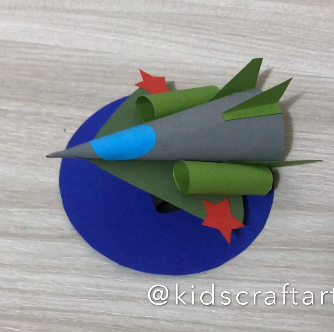 Photo of 23 february military paper crafts for kids airplane