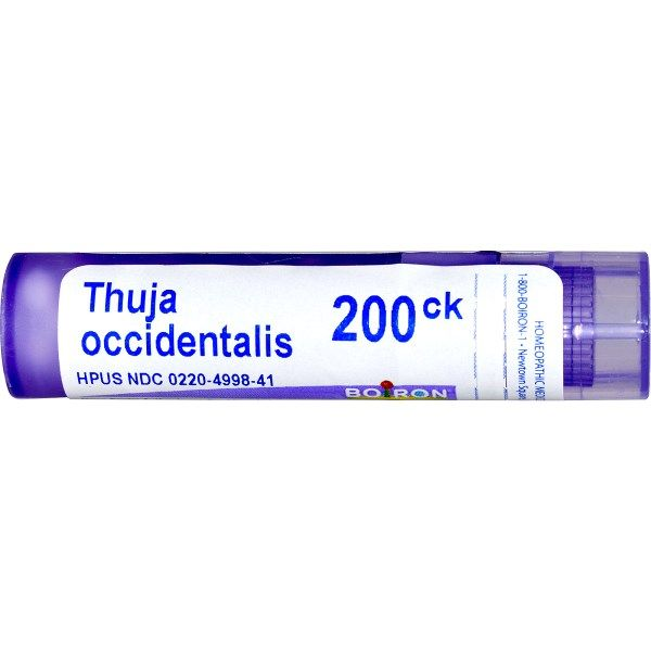 Boiron, Single Remedies, Thuja Occidentalis, 200CK, 80