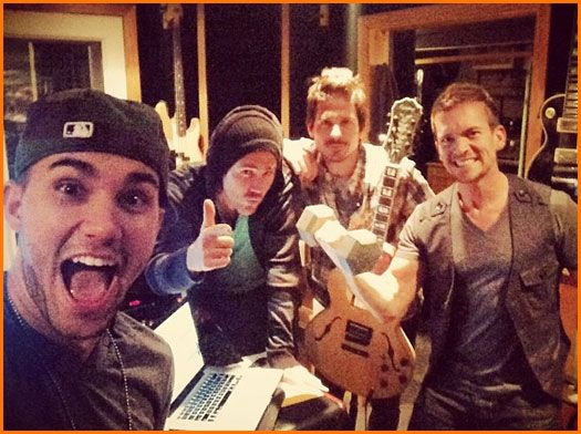 Big Time Rush's Carlos Pena Updates Fans From The Studio November 19, 2012