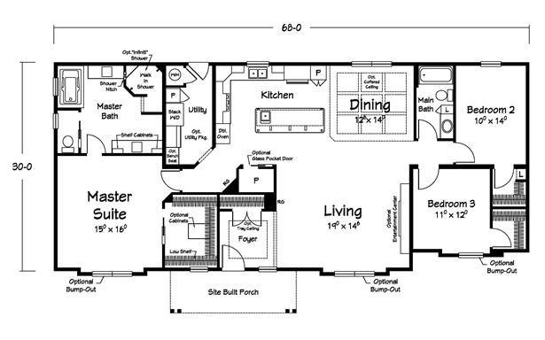 The Shelton Creek Modular Home Manufacturer Ritz Craft Homes Maine