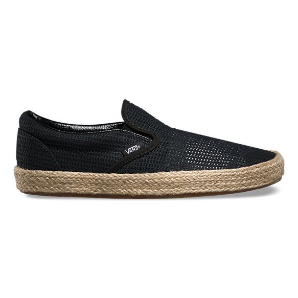 Mesh Slip-On Espadrille | Shop Womens Shoes at Vans