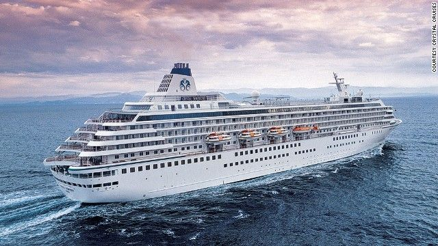 14 Amazing Cruises Setting Sail In 2015 Crystal Cruises Serenity Crystal Cruises World Cruise