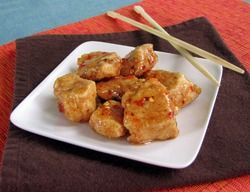Sweet 'n Sassy Boneless Hot Wings...lower in calories than traditional wings!
