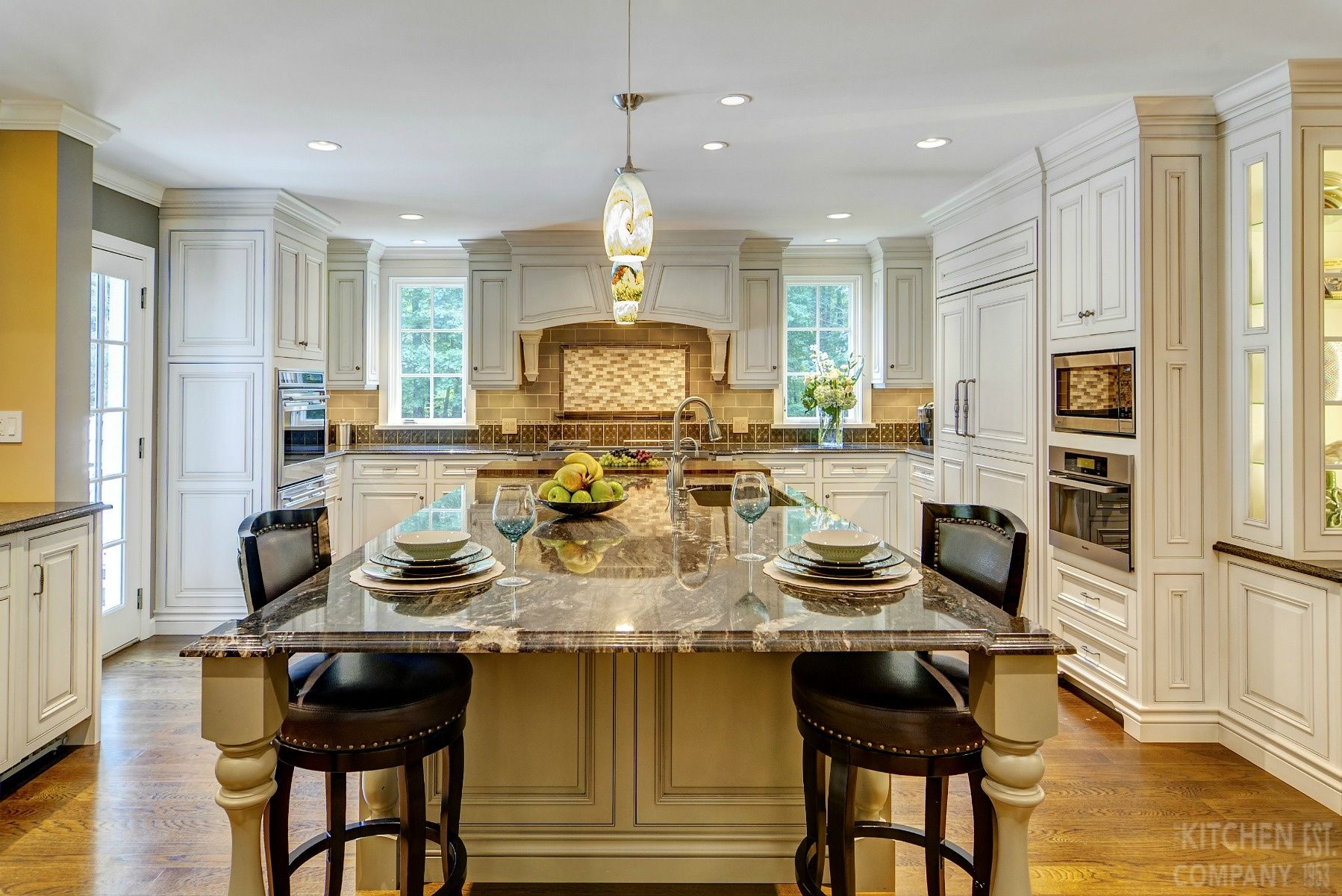 an elegant addition in woodbridge, ct | kitchen remodeling photos
