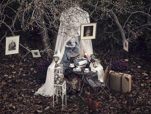 travel...tea...romance...books...gardens
