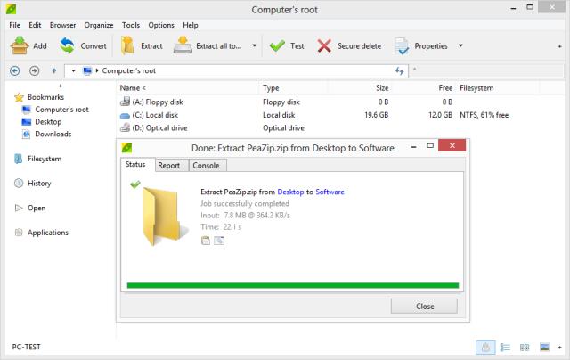 7z portable linux